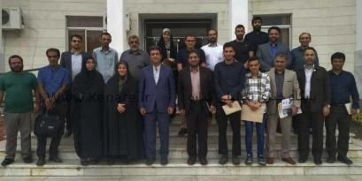 تجلیلی از خبرنگاران و فعالان فضای مجازی شهرستان بندرگز + تصاویر